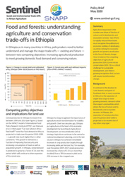 Food and forests: understanding agriculture and conservation trade-offs in Ethiopia